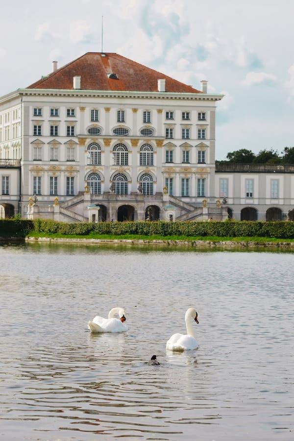Nymphenburg park royalty free stock photo
