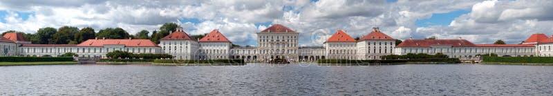 Nymphenburg-Schloss in München stockfotos