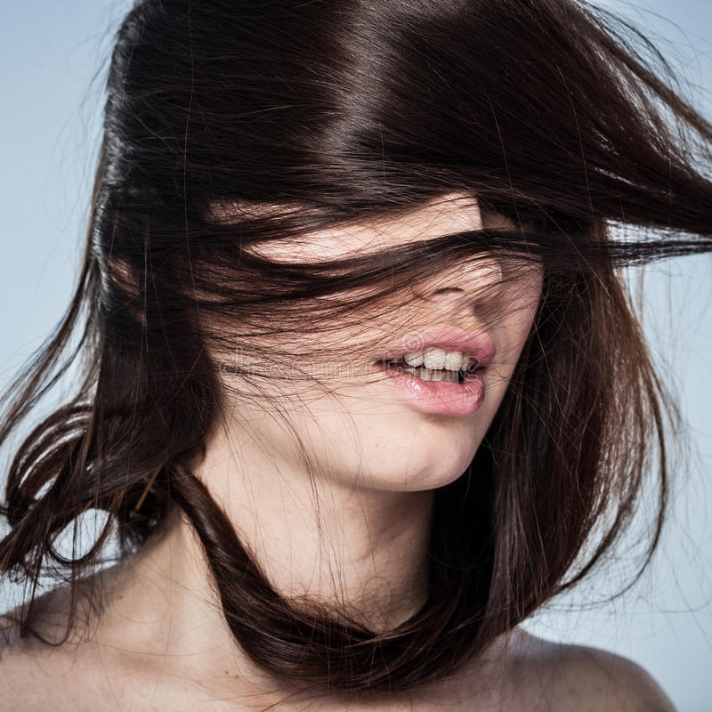 Nymphomane image stock. Image du passion, humain, brunette