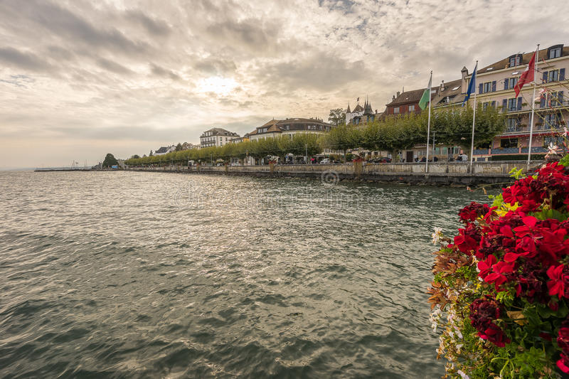 Nyon, Switzerland stock photos