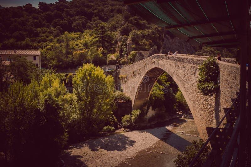 Nyons στην Ευρώπη που ταξιδεύει στη Γαλλία στοκ εικόνα με δικαίωμα ελεύθερης χρήσης
