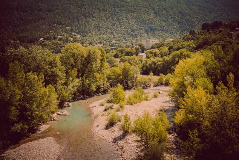 Nyons в Европе путешествуя в Франции стоковое фото
