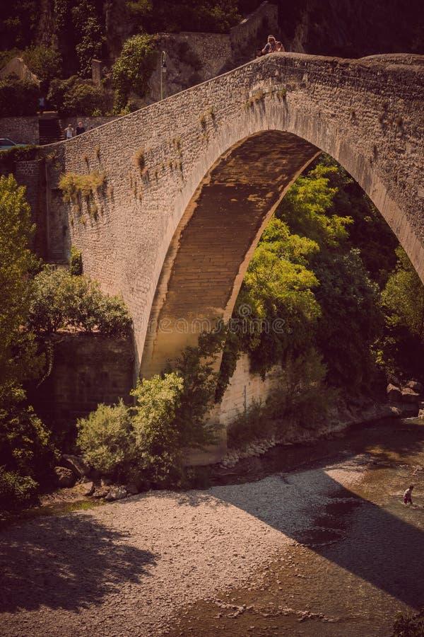 Nyons in Europa che viaggia in Francia fotografie stock libere da diritti