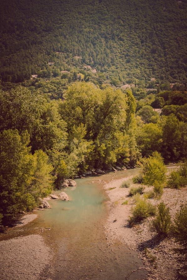 Nyons in Europa che viaggia in Francia fotografia stock