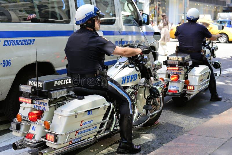 NYPD photos libres de droits