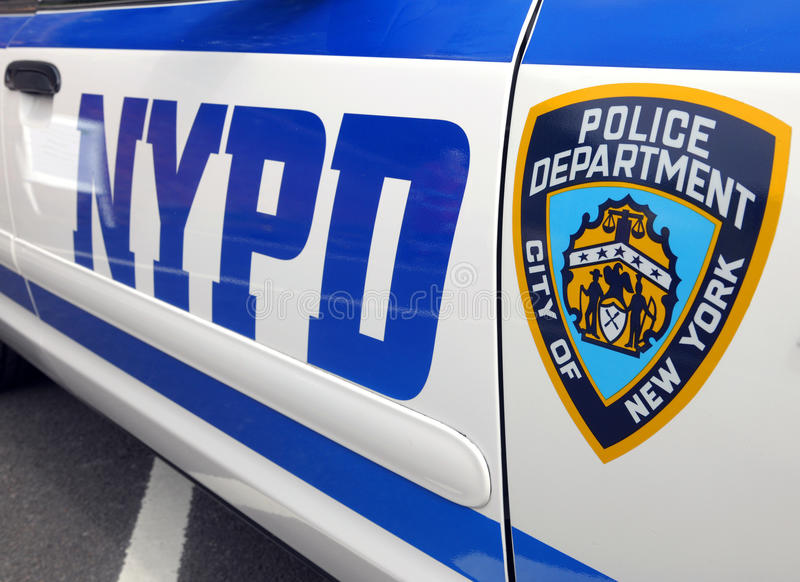 NYPD police cruiser royalty free stock photos