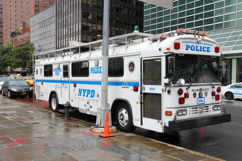 NYPD vehicle stock photos