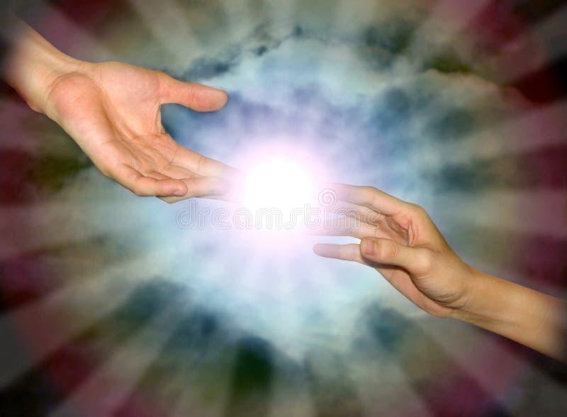 nypremiärnegro spiritual royaltyfri bild