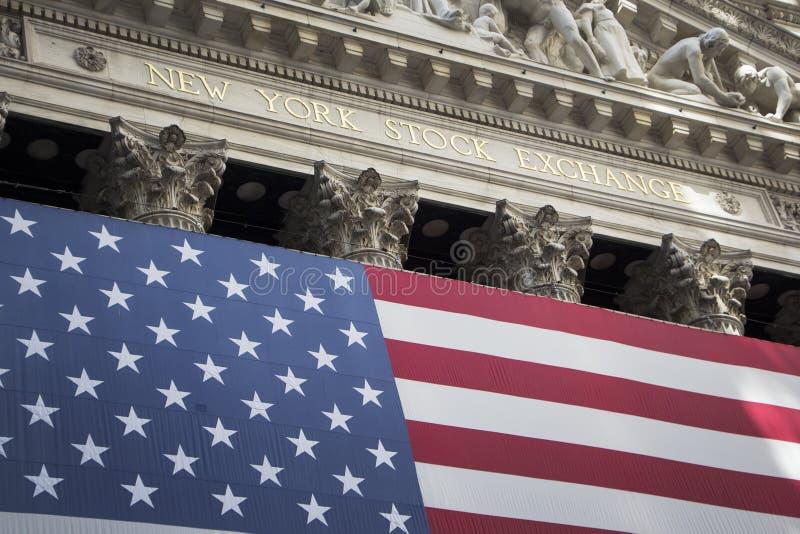 NYSE stock foto