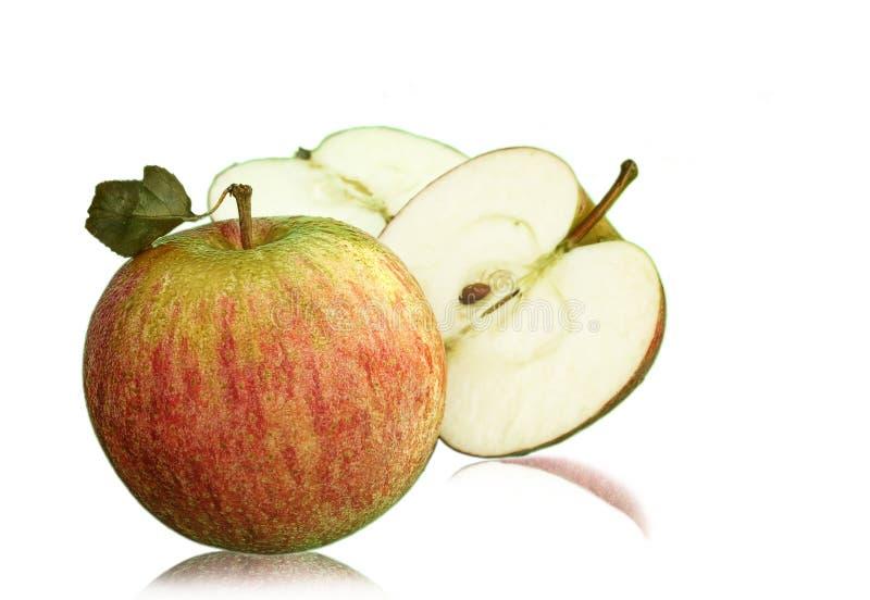 nytt äpple royaltyfria bilder