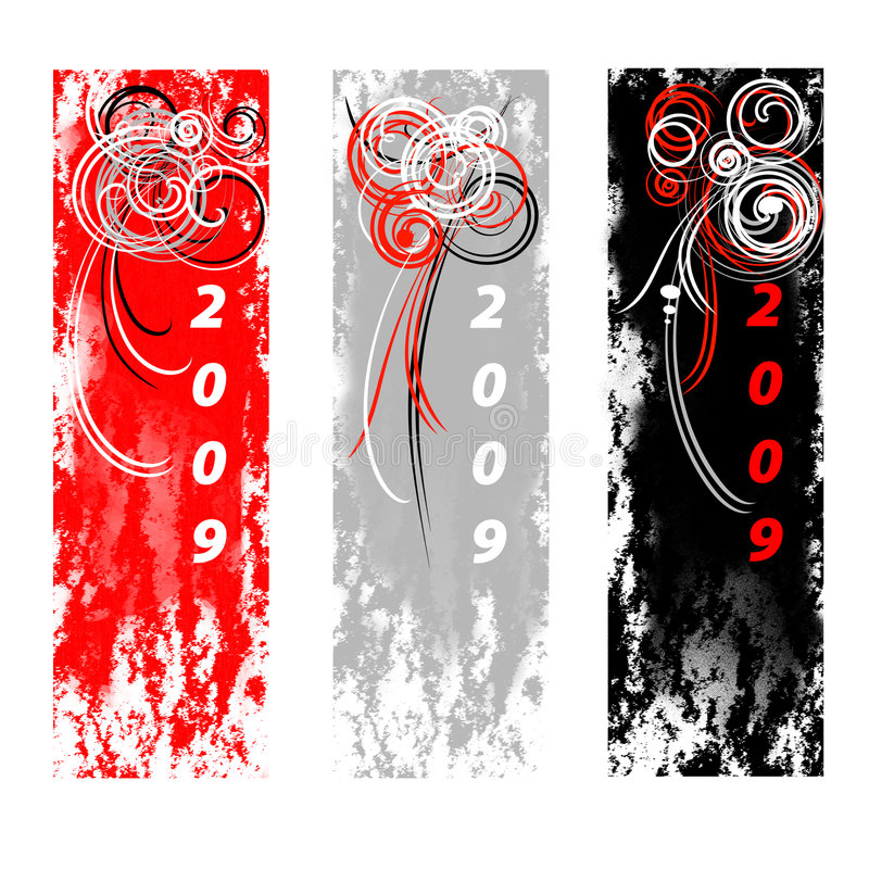 nytt år för bakgrunder vektor illustrationer