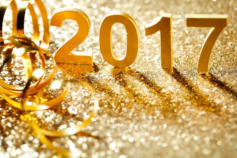 nytt år för garnering royaltyfria foton