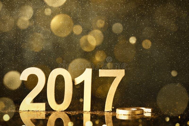 nytt år för garnering arkivfoton