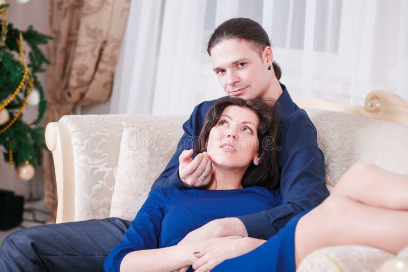 Nytt år för havandeskap royaltyfria foton