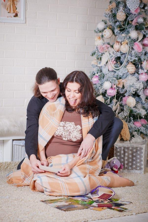 Nytt år för havandeskap arkivfoton