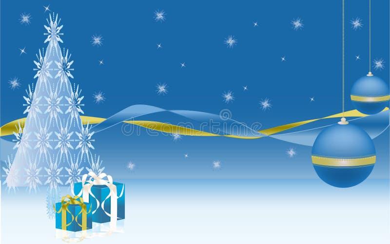 nytt år för illustration royaltyfri illustrationer