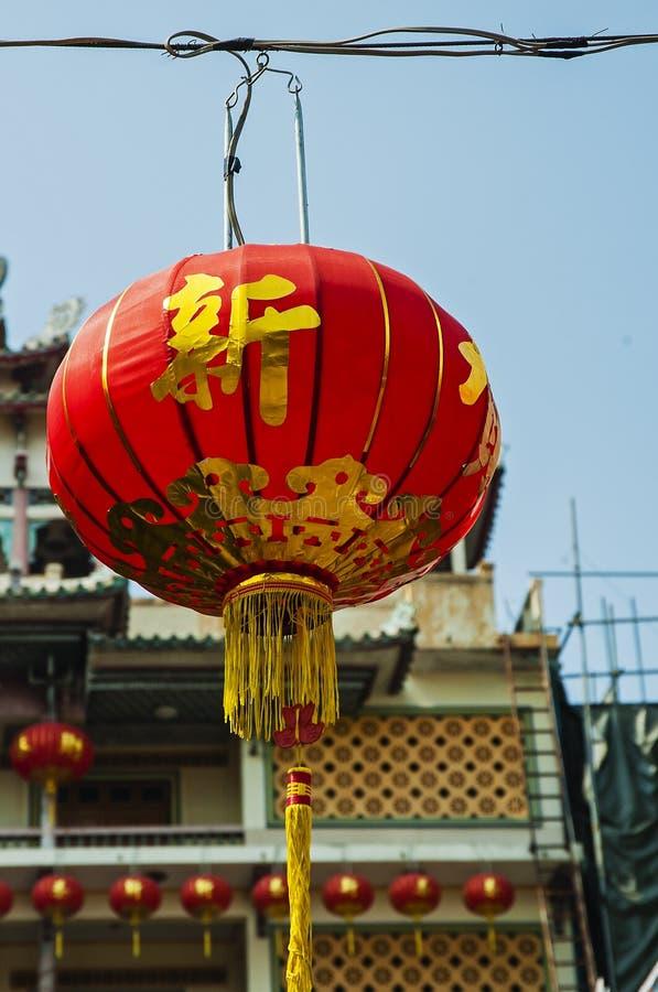 nytt år för kinesisk lykta arkivbilder