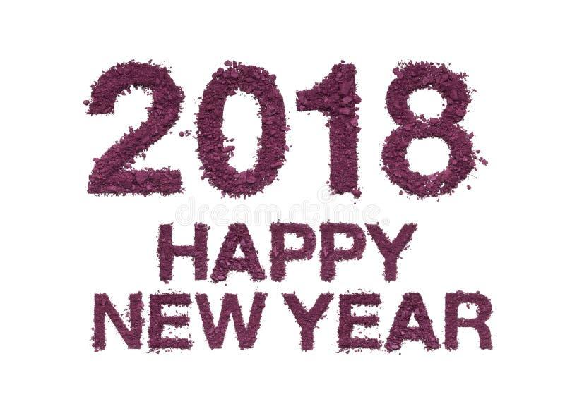 Nytt år för lyckönskan 2018 royaltyfri foto