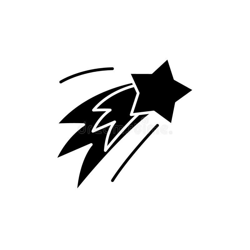 Nytt års symbol för honnörsvart, vektortecken på isolerad bakgrund Nytt års symbol för honnörbegrepp, illustration royaltyfri illustrationer