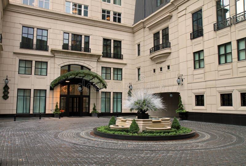 nytt exklusivt för chicago hotell arkivbilder