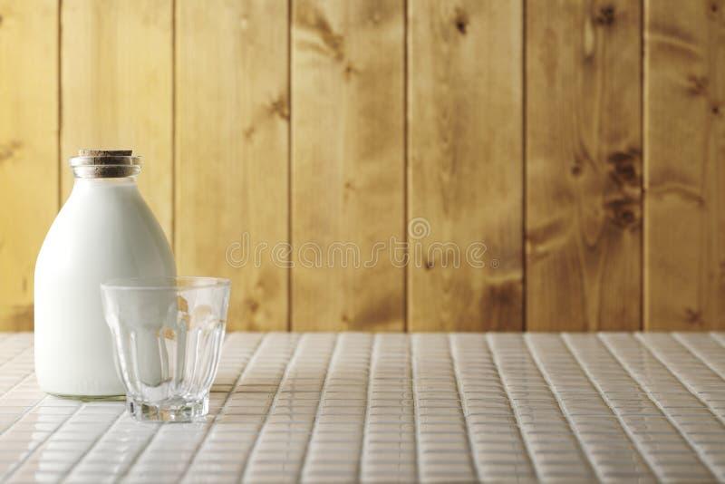 nytt exponeringsglas mjölkar arkivbilder