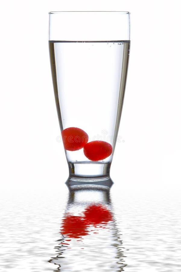 nytt exponeringsglas reflekterat vatten royaltyfri bild