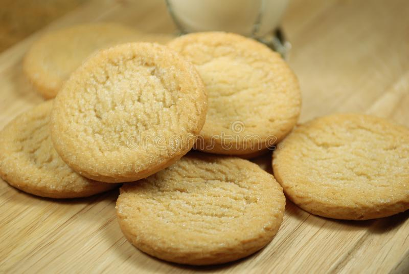 Nytt gjorda Sugar Cookies arkivfoto