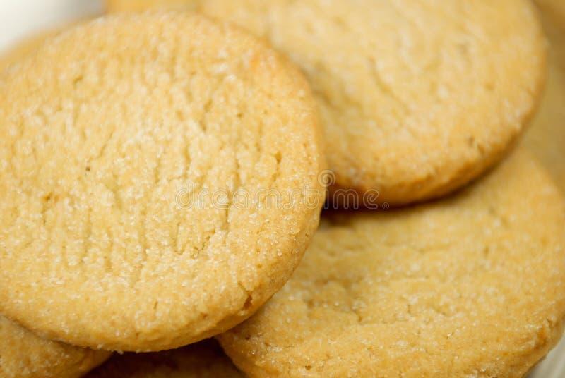 Nytt gjorda Sugar Cookies royaltyfri bild
