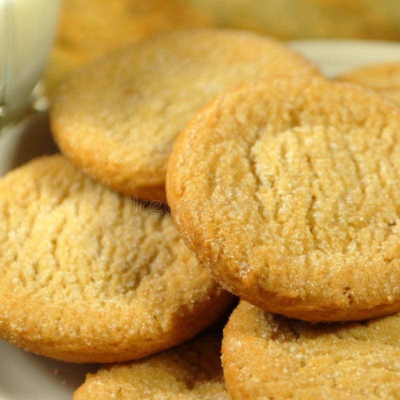 Nytt gjorda Sugar Cookies royaltyfri fotografi