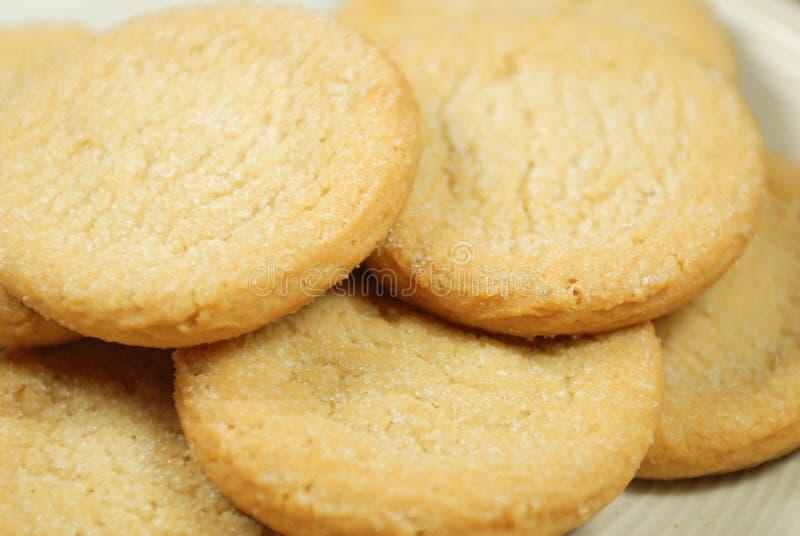 Nytt gjorda Sugar Cookies royaltyfria bilder