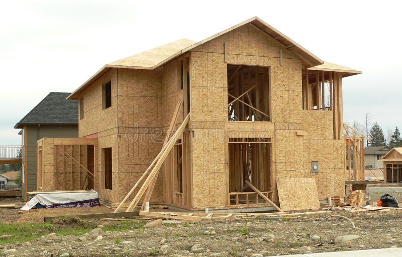 nytt hus arkivbilder