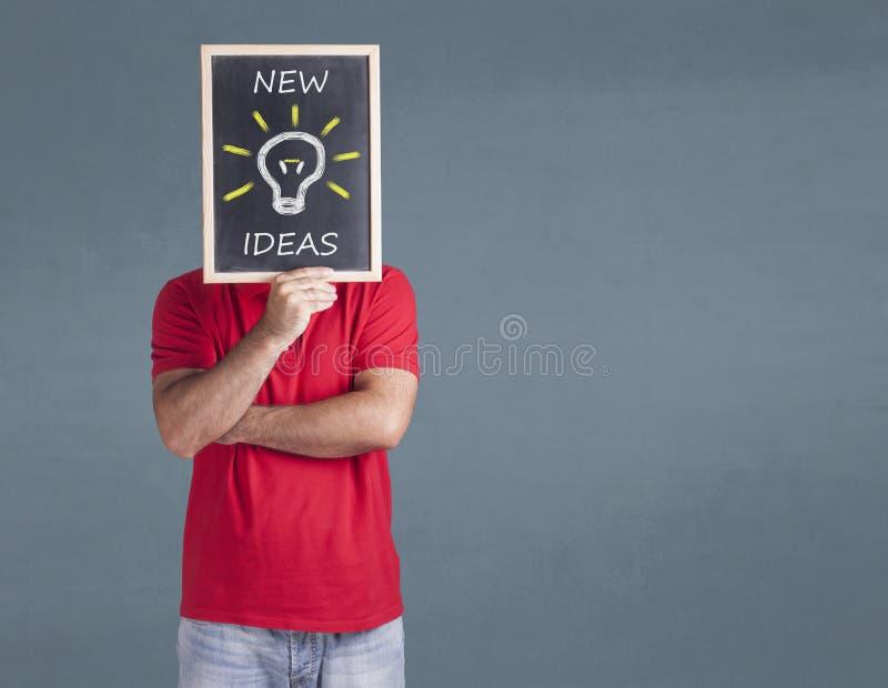 Nytt idé-, innovation- och kreativitetbegrepp royaltyfria foton