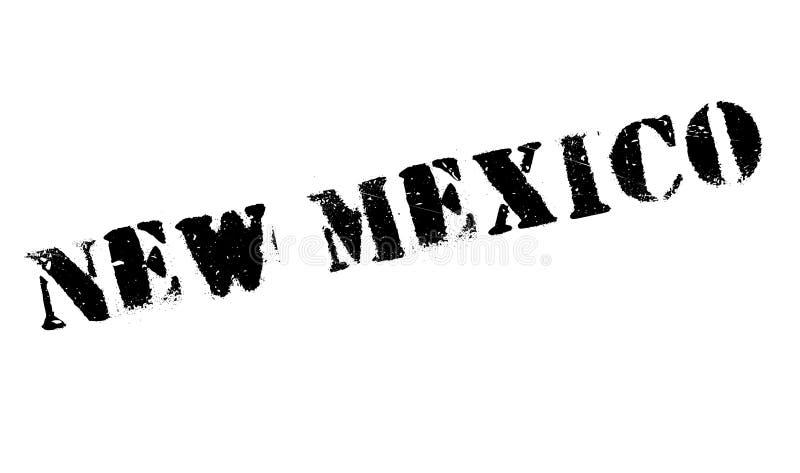 Nytt - Mexiko rubber stämpel stock illustrationer