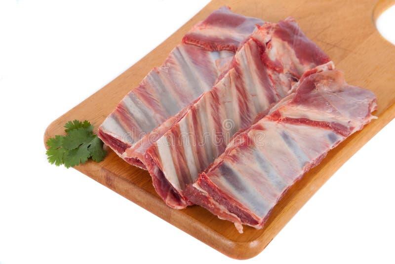 Nytt rått kött arkivfoton