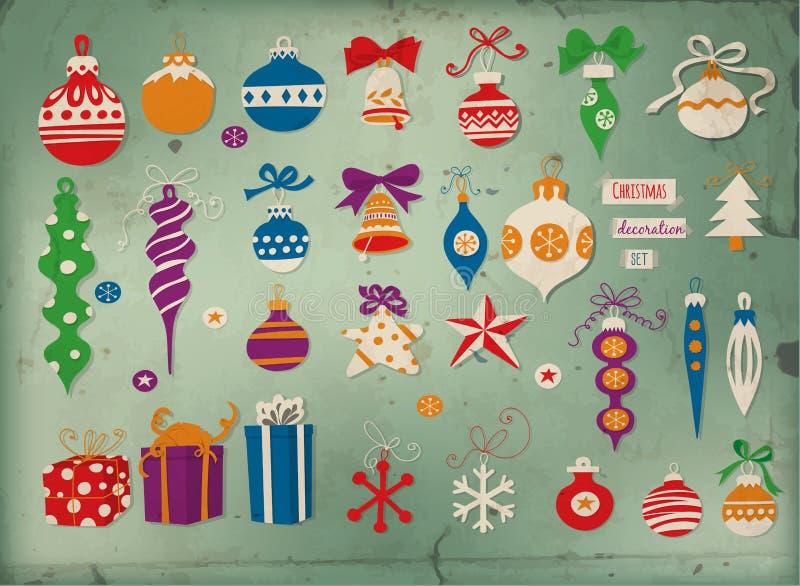 nytt s toys år stock illustrationer