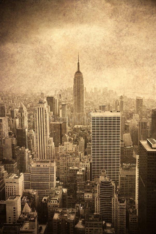 nytt tillstånd york för byggnadsstadsvälde royaltyfri bild