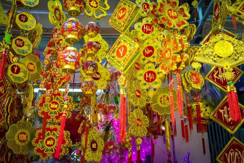nytt vietnamesiskt år royaltyfria bilder