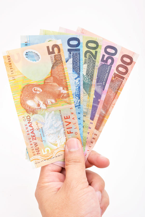 NZ-Bargeld stockfotografie