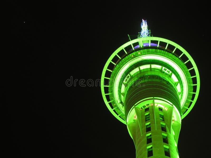 Nz de auckland do skytower de Skycity imagem de stock royalty free