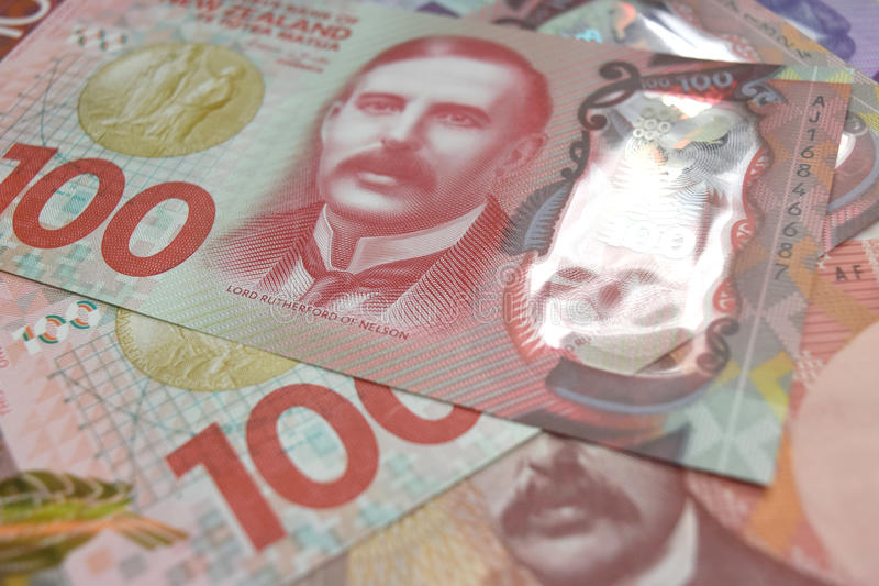 NZ munt royalty-vrije stock afbeelding
