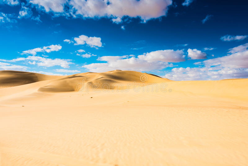 Oásis do deserto de Siwa fotografia de stock