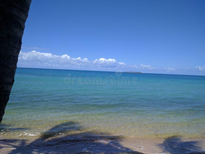 Oásis sós da ilha foto de stock royalty free