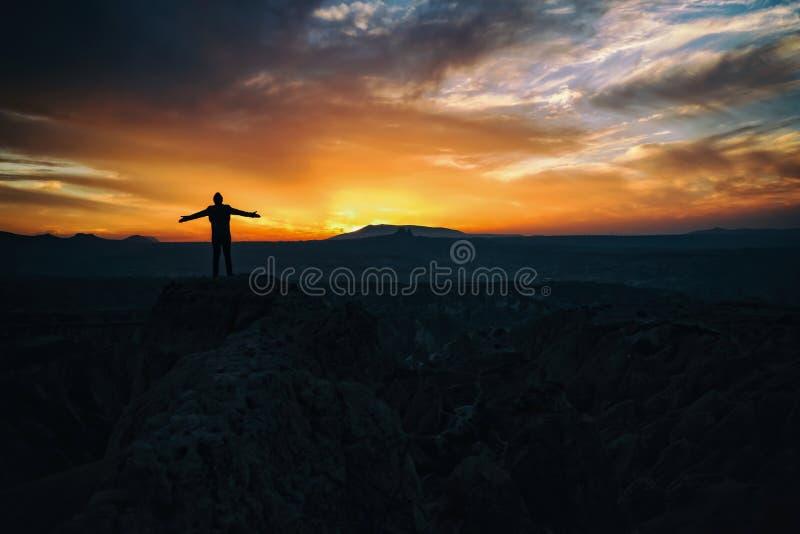 Oändlig himmel royaltyfri bild