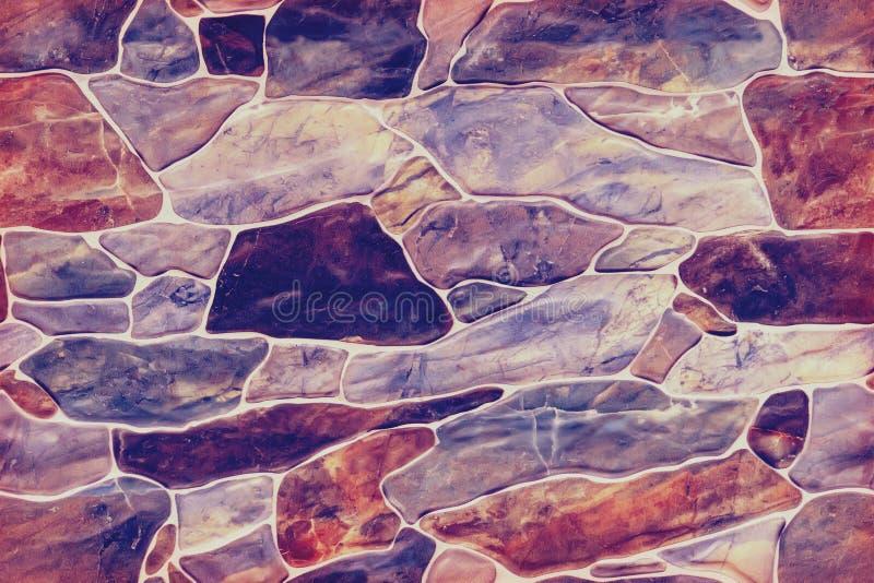 oändlig sömlös textur av snittstenen i bakgrunden royaltyfri bild