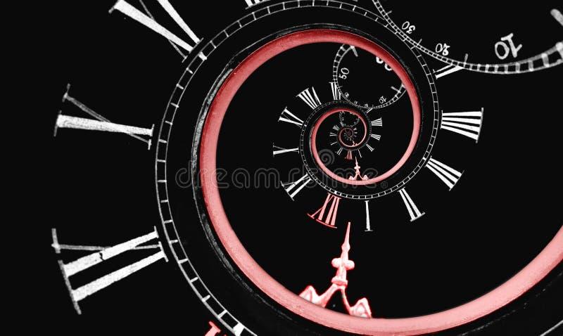 oändlighet ändrad spiral tid arkivbilder