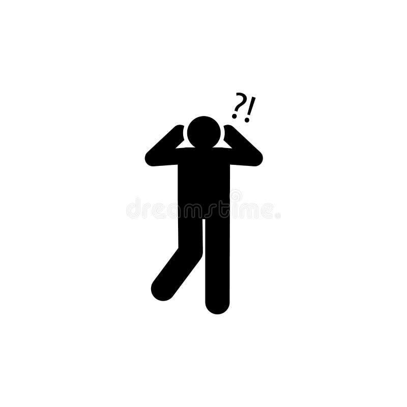 Oído, audiencia, ruido, icono del problema Elemento del icono del c?ncer Icono superior del dise?o gr?fico de la calidad Muestras libre illustration