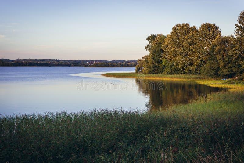 Озеро в изображении Poland стоковая фотография rf