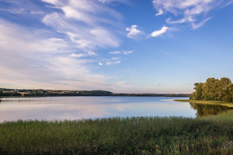 Озеро в изображении Poland стоковое изображение rf