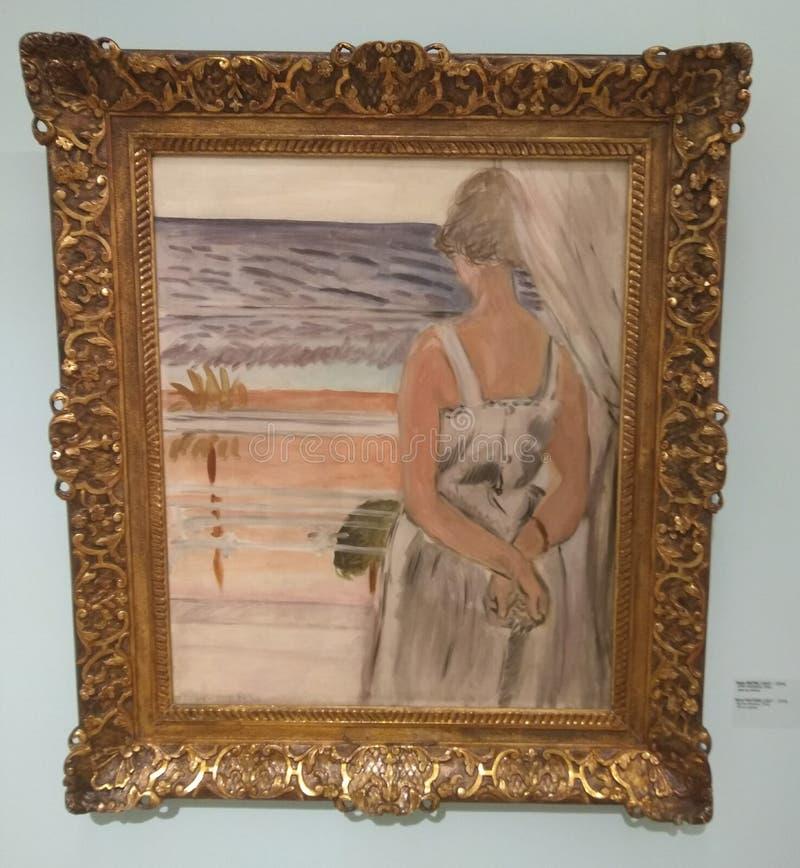 Около окна, Henri Matisse стоковое изображение