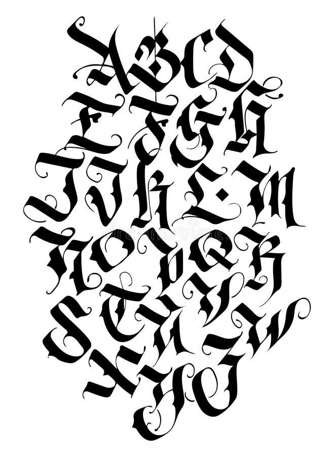 Medieval Font Stock Illustrations – 1,396 Medieval Font